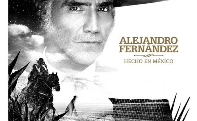 Alejandro Fernández Hecho En México La Portada Del Disco