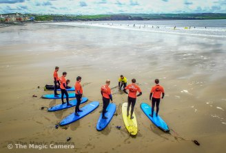 surf lesson lahinch