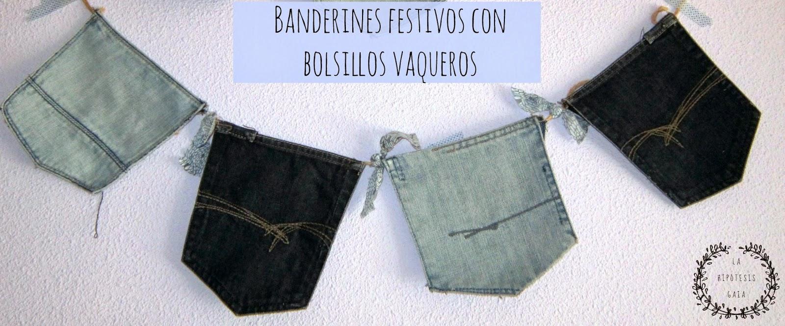 Banderines con bolsillos