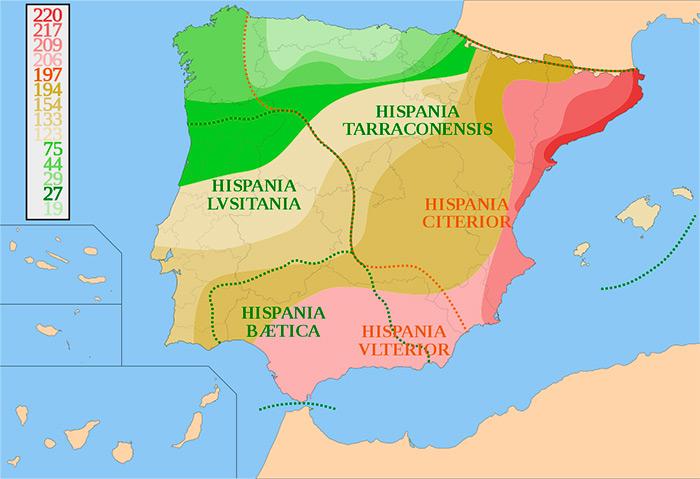 Fases de la conquista romana de Hispania