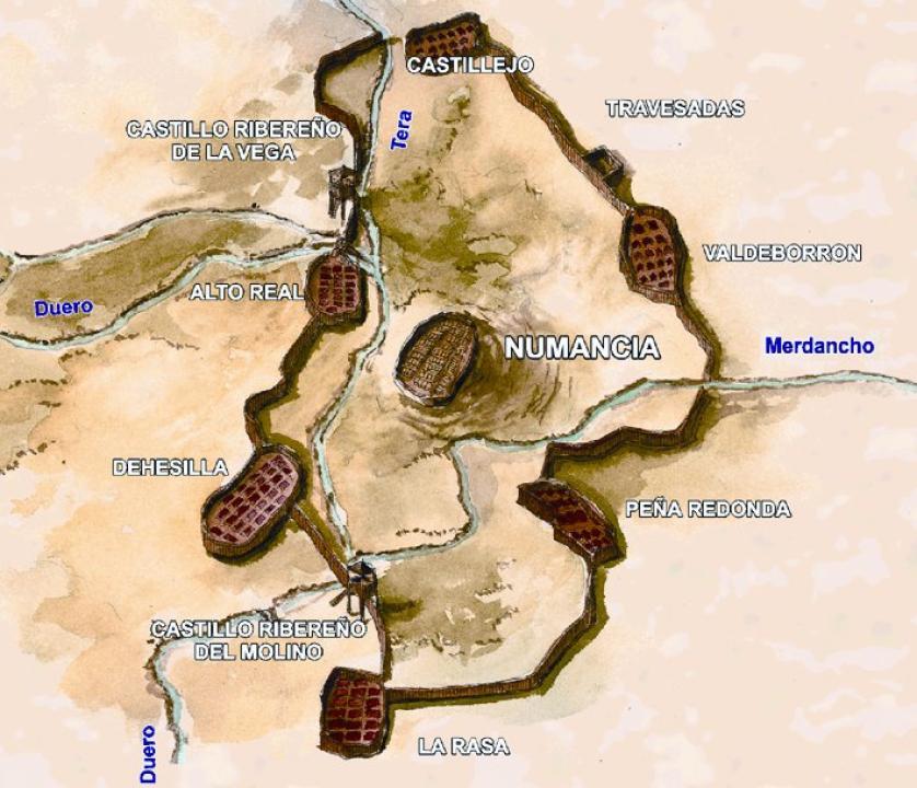 Sitio de Numancia