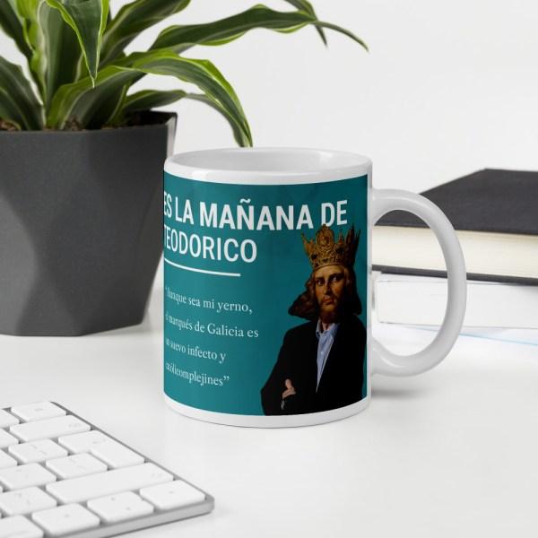 taza es la mañana de teodorico oficina