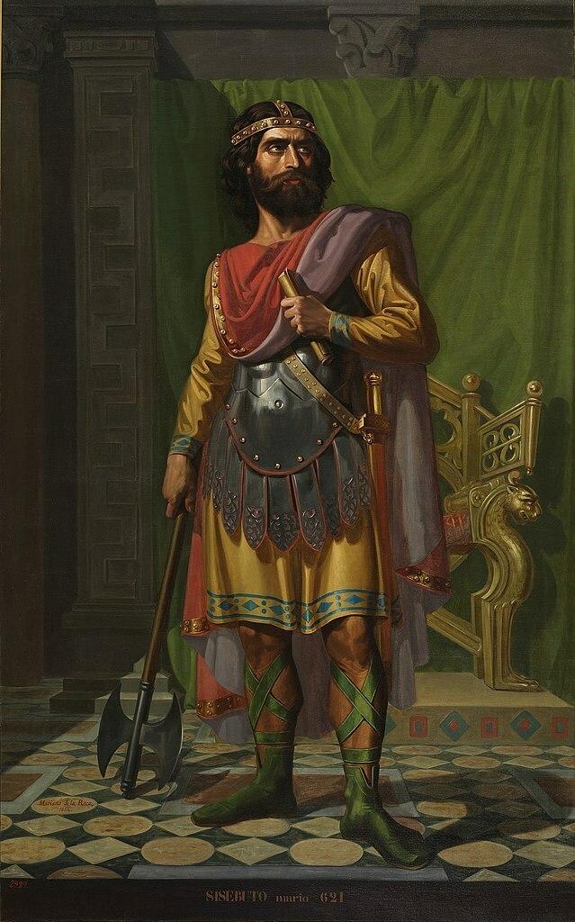 Sisebuto (1854) por Mariano de la Roca y Delgado