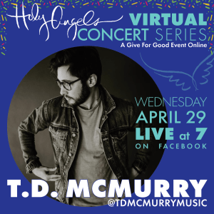 T.D. McMurry LIVE Virtual Concert @ Holy Angels Facebook Page