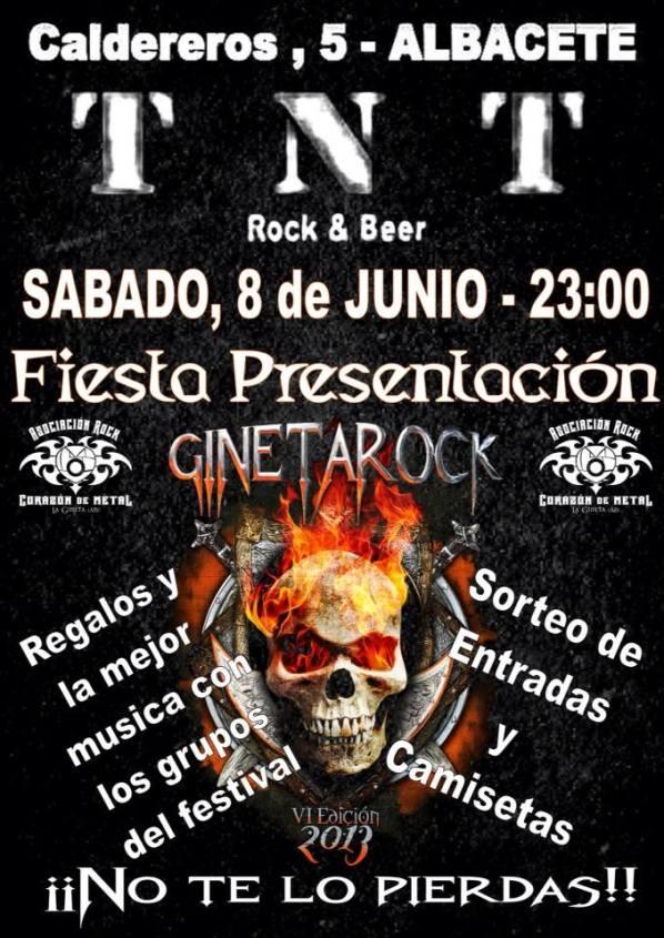 fiesta presentacion gineta rock albacete