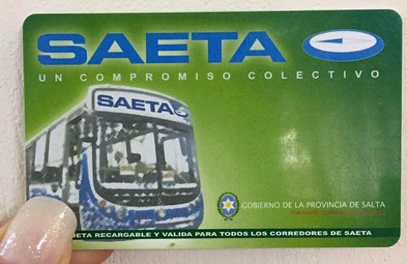 SAETA continua con las visitas a escuelas y la renovación de tarjetas estudiantiles