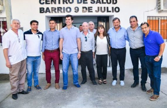 Urtubey inauguró en Orán el nuevo edificio del centro de salud en barrio 9 de Julio