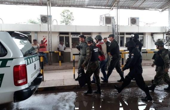 Gendarmería junto a la Policía boliviana detienen a una persona con pedido de captura internacional
