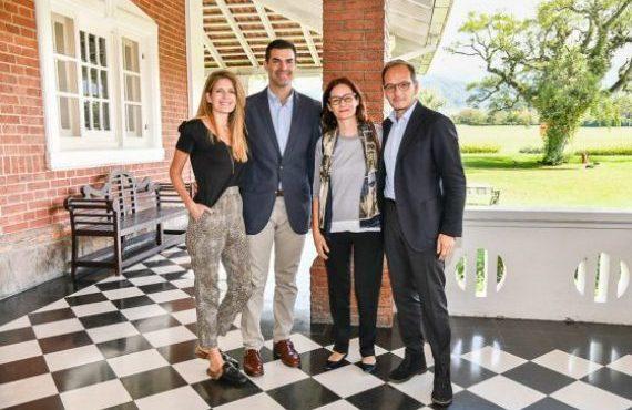 El gobernador Urtubey recibió los saludos protocolares del embajador de Italia