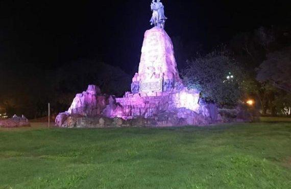 Esta noche vigilia en honor al General Martín Miguel de Güemes