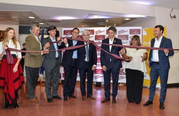 Fueron inaugurados nuevos vuelos que conectan Salta con Mendoza, Córdoba, El Palomar y Rosario