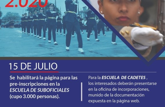 Hoy inician las inscripciones para las escuelas de formación policial