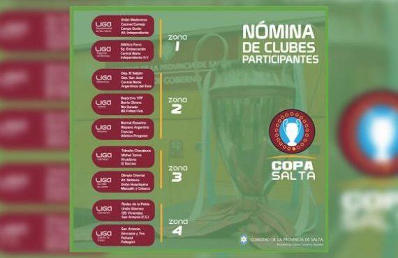 Torneo de las ligas de fútbol Copa Salta 2019