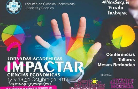 Segundas Jornadas IMPACTAR en Ciencias Económicas de la UNSa