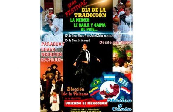 """El fin de semana se realizará el Festival Folclórico """"Uniendo el Mercosur"""""""