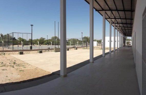 Finalizaron obras de infraestructura comunitaria en paraje Las Vertientes de Santa Victoria Este