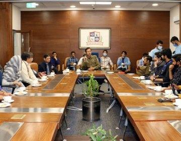 پنجاب سیف سٹیزاتھارٹی کا دورہ