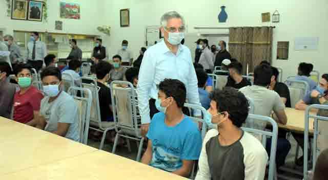 غیر ملکی طلباء کیلئے ظہرانہ