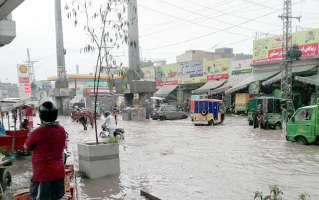 لاہور , بارش