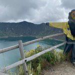 Quilotoa… Trekking around its crater.