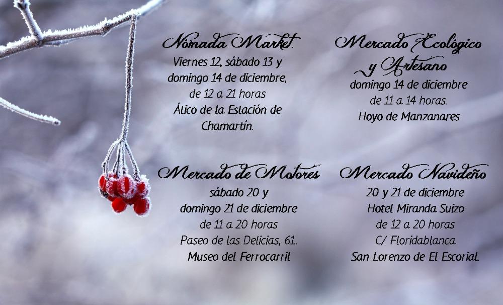 Agenda navideña de La Huella del Bosque