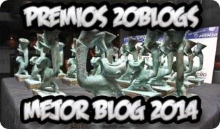 ¡Fiesta Premios 20blogs!