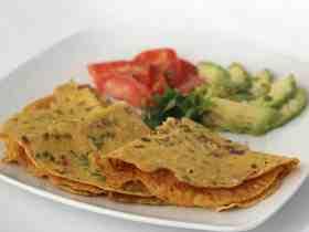 Tortillas con Harina de Garbanzo Indias, aprende a prepararlas