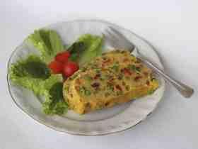 Receta de Tofu de Garbanzos con Verduras