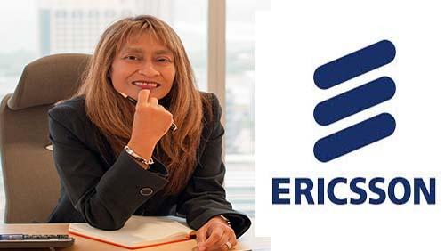 رافيا إبراهيم رئيسة شركة إريكسون