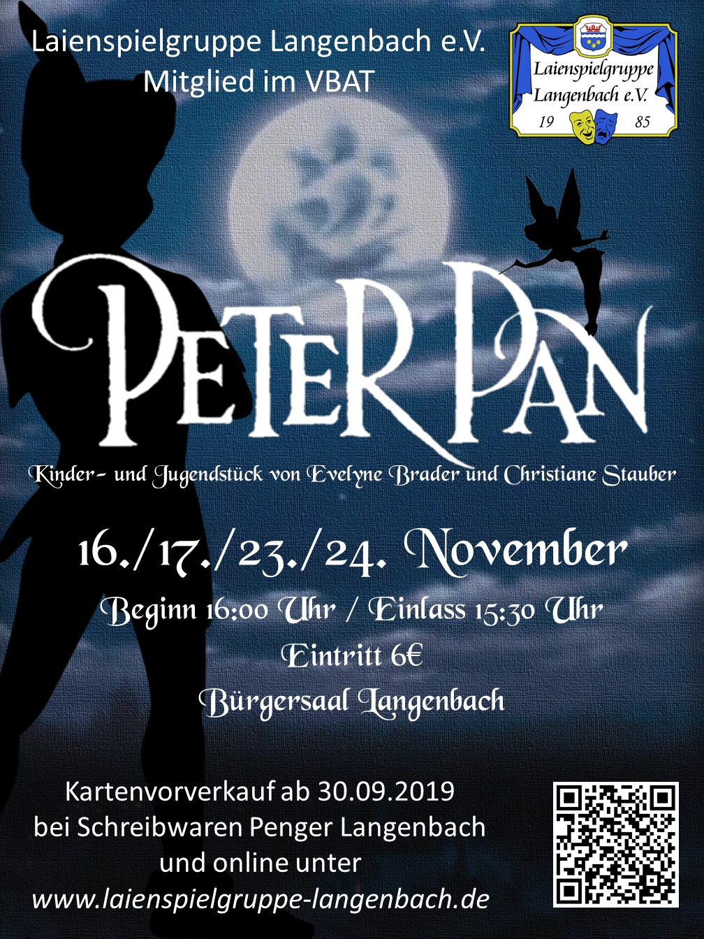 Peter Pan Plakat (PNG)