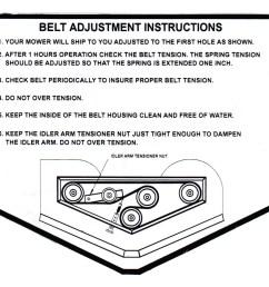 60 sli deck belt diagram  [ 2010 x 1669 Pixel ]