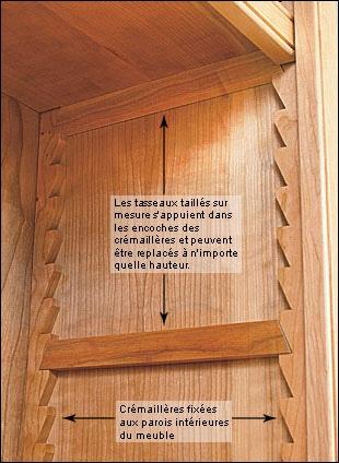question cremaillere en bois par evi