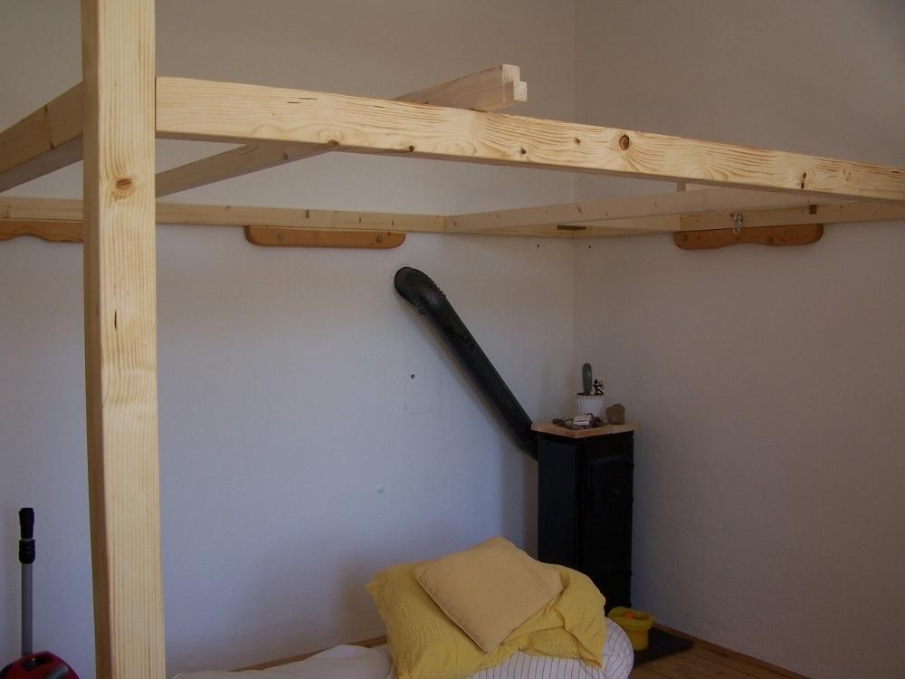 lit mezzanine par samj sur l air du bois