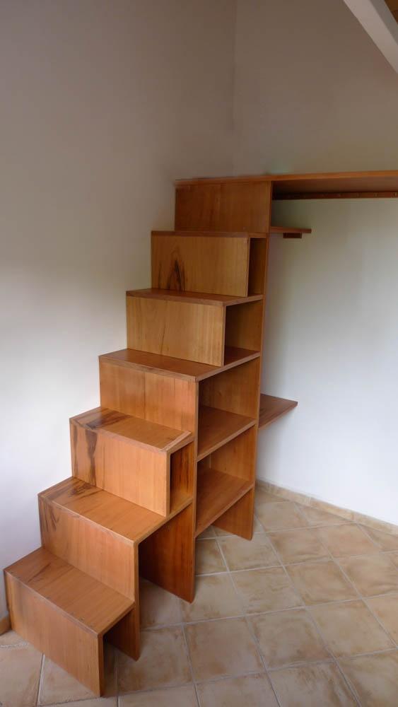Escalier Mezzanine Par Hundertaker Sur LAir Du Bois