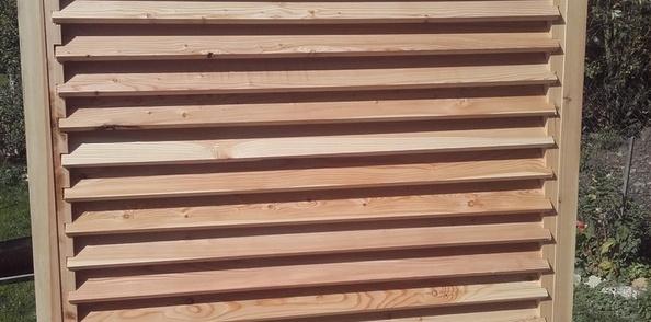 brise vue par becbois sur l air du bois