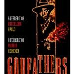 Godfathers el 6 de febrero en Barcelona (Apolo) y el 8 de febrero en Madrid (Heineken)