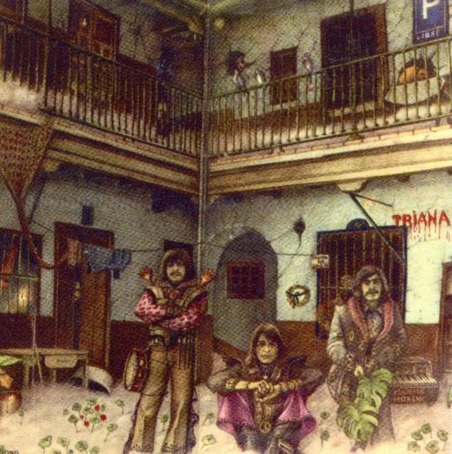 Actualidad. Hecho en España con Portadas eternas: Triana -El patio- (1975)