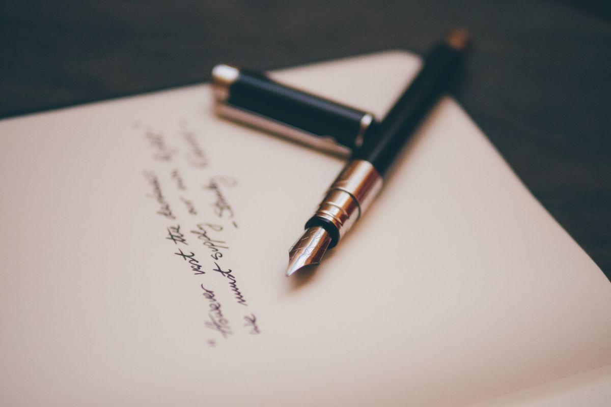 écrire une chanson