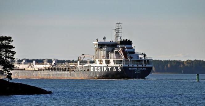 BESIKTAS SCOTLAND. rakennettu 2007, Cicek Shipyard Marine Industry Istanbul, Turkey. 147x22m. Öljy/kemikaalitankkeri. Besiktas Group, Turkki. Lippu: Malta