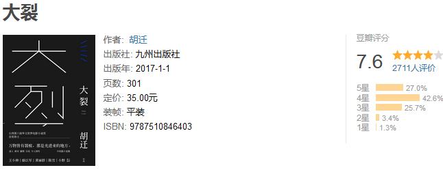 《大裂》by 胡遷