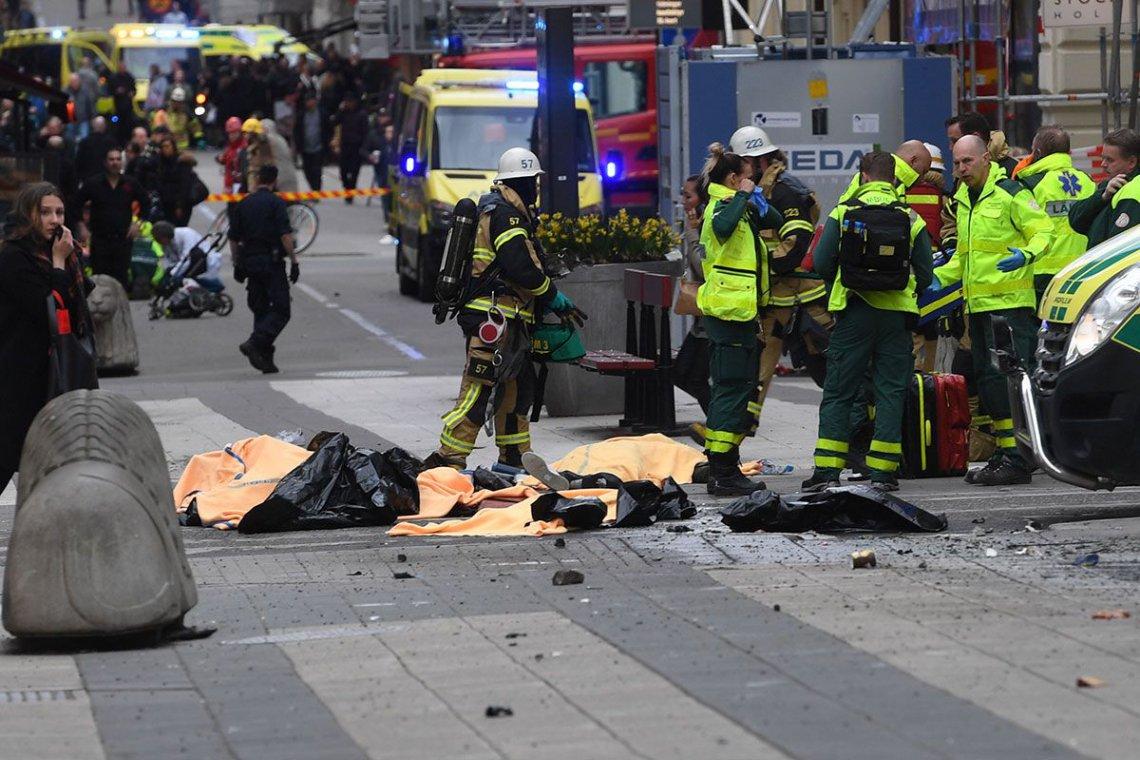 Resultado de imagen de atentado estocolmo 2019