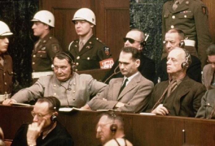 Resultado de imagen para Fotos de los Condenados en el Juicios de Núremberg