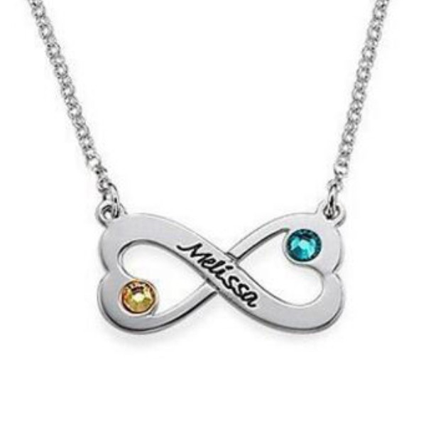 infinity s925 silver personalized