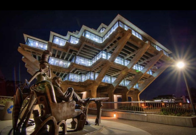 Geisel Library in San Diego