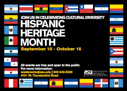 Image result for hispanic heritage month asu