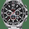 Reloj Lotus hombre chrono esfera negra