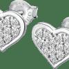 Pendientes Corazones Lotus Silver Lp3125-4/1 Circonitas Con cierre de presión y frontal cuajado de circonitas. Frescura en sus diseños, dinamismo en las formas. Elegancia, moderna, joven y contemporánea. Adéntrate en esta fantástica colección llena de magia a unos precios de escándalo.
