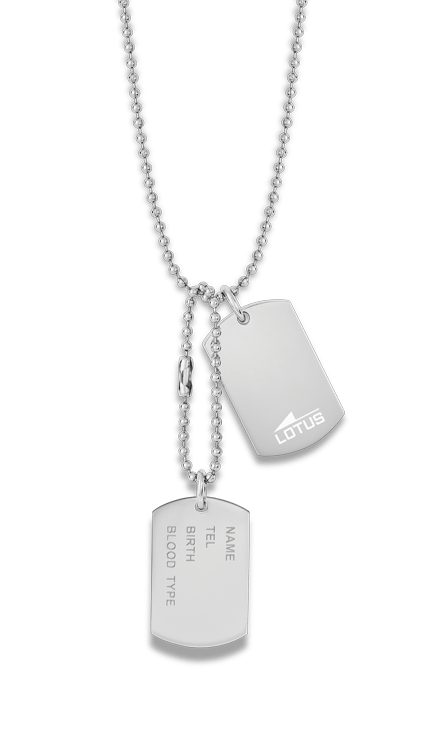Chapa militar Doble Lotus Style Ls2139-1/1 Acero Chapa militar Doble Lotus Style Ls2139-1/1 Acero con cadena de bolas. Un collar valiente, robusto y atrevido. Tienes la posibilidad de grabarlo de forma gratuita unicaménte indica en el apartado los datos necesarios. El collar de la colección Lotus Style se entregará junto con su estuche oficial.