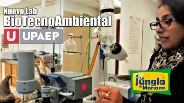 Nuevo Lab BioTecnoAmbiental UPAEP