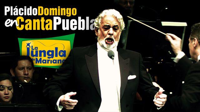 Plácido Domingo enCanta Puebla